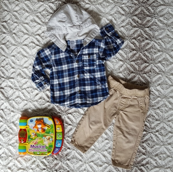 Carter's Other - Carter's Fall Outfit with a Surprise!